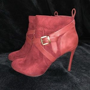 Charolette Russe Red Bootie 9